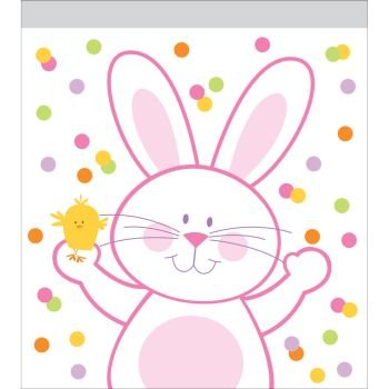 Easter Bunny Zip Lock Sandwich Bags 10 Per Pack