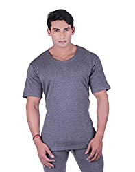 DREAMDROP GREY HALF SLEEVES THERMALS FOR MEN BY FASHION LINE (42)