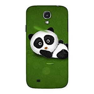 Cute Panda Green Grass Back Case Cover for Samsung Galaxy S4