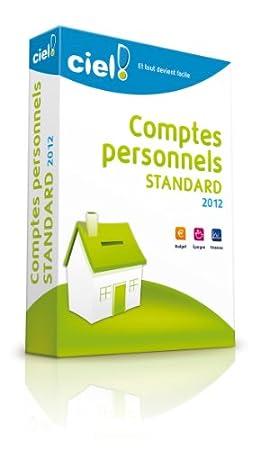 Ciel Comptes Personnels Standard 2012