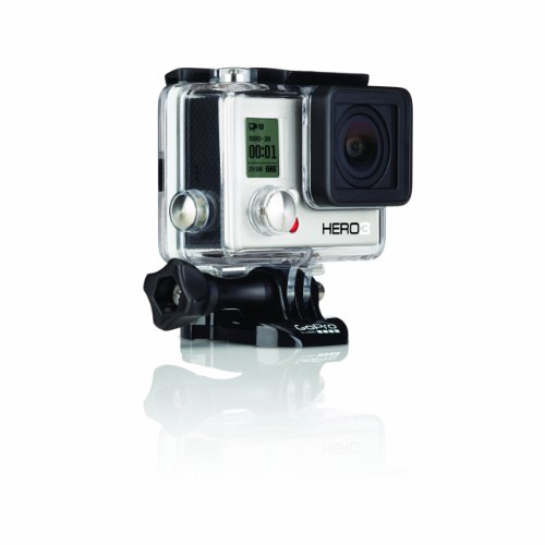 GoPro Hero3: White Edition – (131′/ 40m Waterproof Housing)