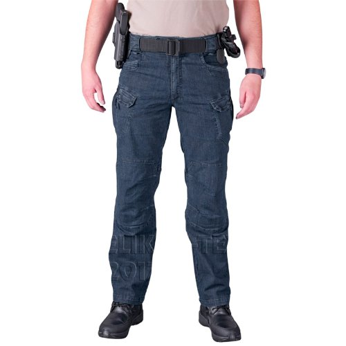 Helikon UTP Tactical Pants Mens Cargo Trousers Combat Security Police Denim Blue