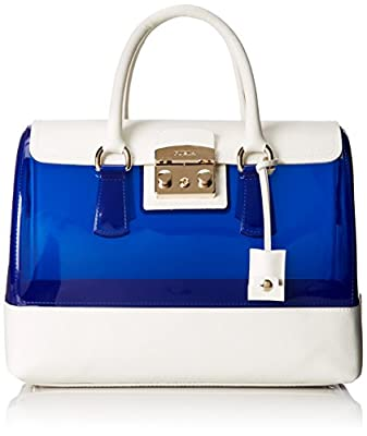 Furla Candy Vanilla Medium Satchel