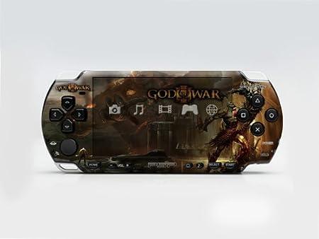 GOD WAR PSP (Slim) Dual Colored Skin Sticker, PSP 2000