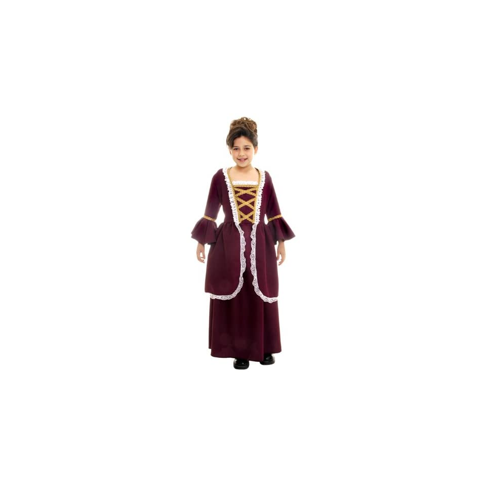 Colonial Girl Child Costume 91130 RG Costumes