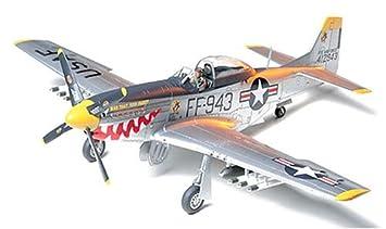 Tamiya - 61044 - Maquette - P-51D Mustang - Guerre de Corée - Echelle 1:48