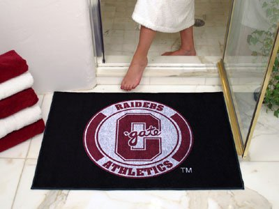 NCAA Colgate Raiders Chromo Jet Printed Rectangular Area Rug Floor Mat 45