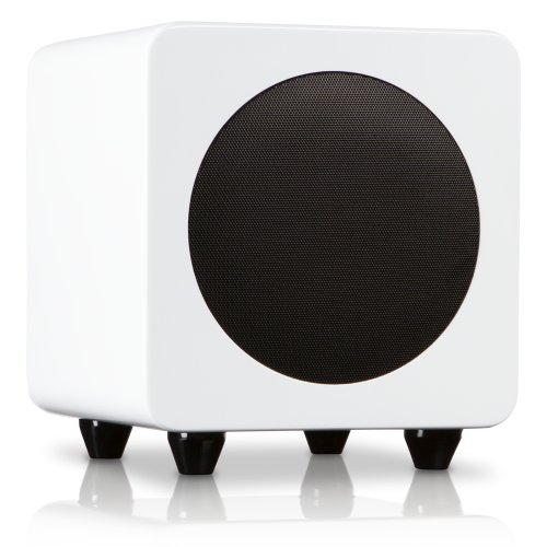 Kanto Sub6Gw 6-Inch Powered Subwoofer (Gloss White)