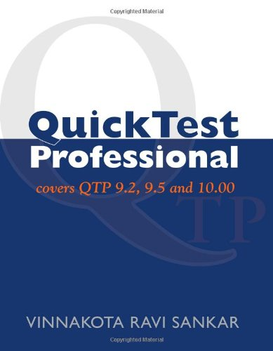 Quicktest Professional: Covers Qtp 9.2, 9.5 And 10.00