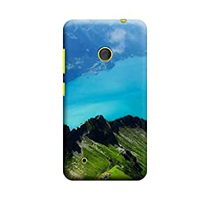 Ebby Premium Printed Mobile Back Case Cover With Full protection For Nokia Lumia 530 (Designer Case)