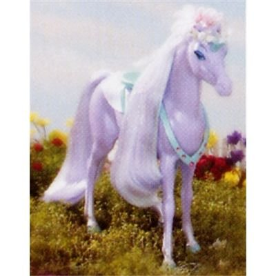 Barbie G8398 - Teeparty Pferd Lila