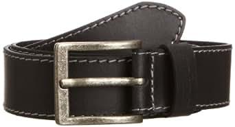 Wrangler Basic - Ceinture - Homme - Noir (Black) - FR: 100 cm (Taille fabricant: 100)