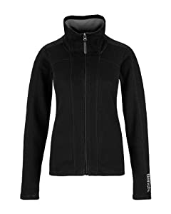 Bench Damen Sweatjacke Abbots,  black,  XS, BK001,  BLEA3273