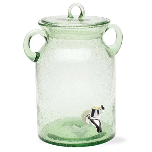 Tag 350218 28.5-Cup Bubble Glass Drink Dispenser, Green (Drink Dispenser Tags compare prices)