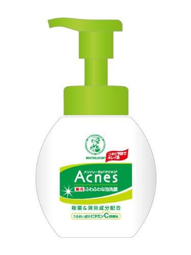 アクネス 薬用ふわふわな泡洗顔 160ml