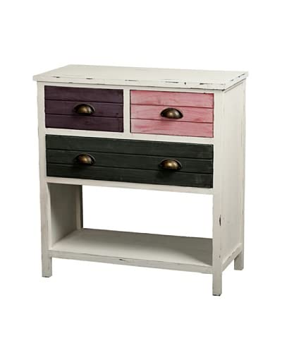 Gallerie Décor Hampton Multicolor Accent Chest, Mutely