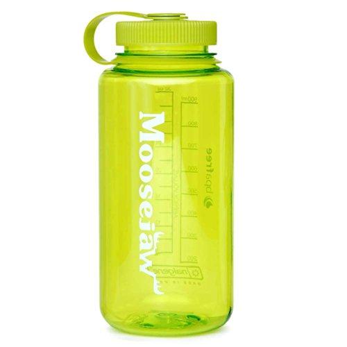 Moosejaw Nalgene Tritan Water Bottle Spring Green 32Oz front-870029