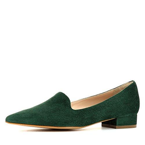 Evita Shoes Franca, Mocassini donna, verde (verde), 39