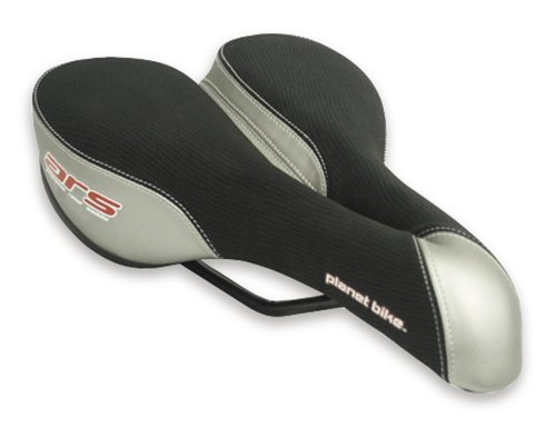 Planet Bike Women's ARS Classic Anatomic Relief Bicycle Saddle - Silver/Black - 5001