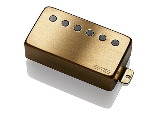 EMG 66-B BG Alnico V Active Neck Humbucker - brushed gold