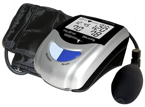 Cheap Lumiscope 1103 Semi-Automatic Blood Pressure Monitor with Date and Time (B000RH6PIW)
