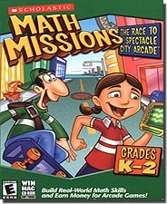 Scholastic Software Math Missions: Race To Spectacle City ( Windows/Mac )
