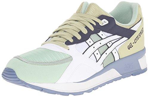 ASICS GEL Lyte Speed Retro Running Shoe, White/White, 8.5 M US