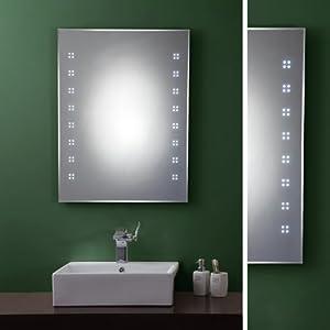 led spiegel 80x60 cm am691 k che haushalt. Black Bedroom Furniture Sets. Home Design Ideas