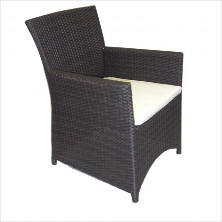 Source Outdoor St. Tropez Dining Chair, Standard