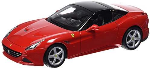 Bburago 1:18 Scale Ferrari Race and PlayCalifornia T (closed top) Diecast Vehicle (Colors May Vary)