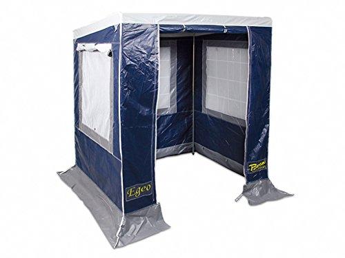 Bertoni Egeo 170 PVC Fire Resistant & Anti UV Cucina Picnic da Campeggio, Blu/Grigio, Unica