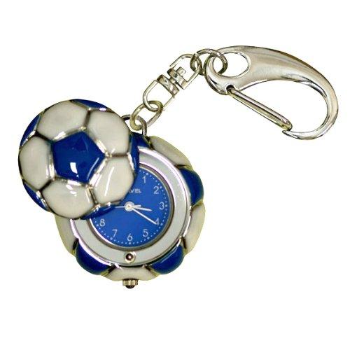 Ravel Children's Football Keyring Pocket or Fob Watch R2309.06