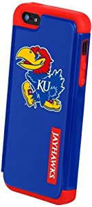 Buy Forever Collectibles NCAA Kansas Jayhawks Dual Hybrid Hard Apple iPhone 5 5S Case by Forever Collectibles