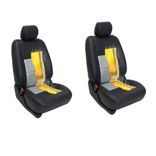 Carbon Fiber Seat Heater Kit Hi/Lo Setting 3 Years USA Warranty - 2 Seats (Heated Seat Kits compare prices)
