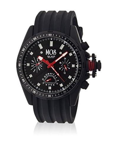 Mos Reloj con movimiento cuarzo japonés Mossm103 Negro 45  mm