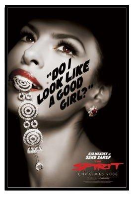 ザ・スピリット/The Spirit (Eva Mendes)  ポスター フレームセット [おもちゃ&ホビー]
