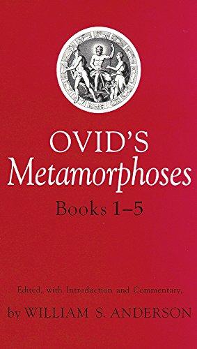 Ovid's Metamorphoses Books 1-5 (Bks 1-5) PDF