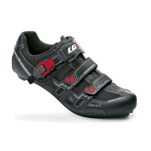 Louis Garneau Men's Revo XR3 Road Cycling Shoes Black-49