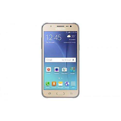 Samsung Galaxy J5 SM-J500H/DS GSM Factory Unlocked Smartphone, International Version (Gold) (Samsung Galaxy 5 Phone compare prices)