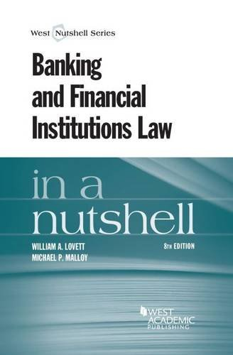 Banking and Financial Institutions Law in a Nutshell PDF