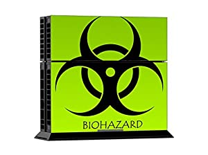 Arrela® PS4 Console & Controller Decal Sticker Skin Fashionable Delicate Non-slip Surface for PlayStation 4 Biohazard