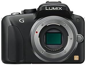Panasonic - Lumix DMC-G3KEG-K - compact hybride - boitier nu - 16 Mpix - Noir
