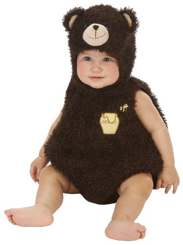Just Pretend Kids Infant Romper, 6-12 Months, Bear front-662755
