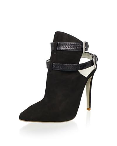 Plomo Women's Alfonsa High Heel Bootie  - Black