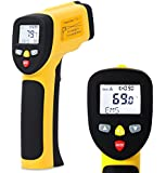 EnnoLogic Temperature Gun Dual Laser Infrared Thermometer -58°F to 1202°F - Accurate Digital Surface IR Thermometer eT650D