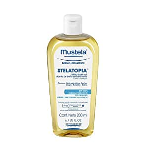 Mustela Stelatopia Milky Bath Oil 6.7 fl oz.