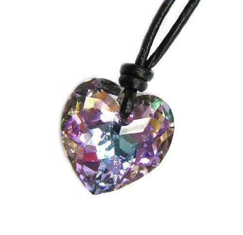 swarovski-elements-vitrail-light-di-cristallo-a-forma-di-cuore-ciondolo-collana-girocollo-in-pelle-1