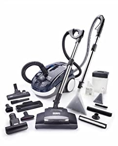 Rotho 788532 Twin TT Pet Plus Multi-Functional Total Home Cleaning System, Navy Blue