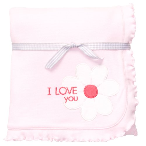 Carter'S Girls Daisy Cuddle Blanket front-27606