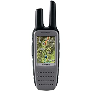 GARMIN 010-00928-02 Rino(R) 655T GPS Receiver Plus FRS GMRS Radio by Garmin